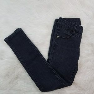 Bebe Black Denim Skinny Jeans Size 25